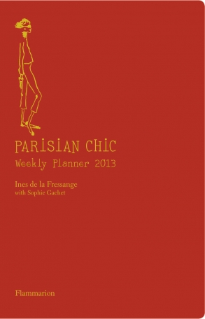 Parisian chic weekly planner 2013