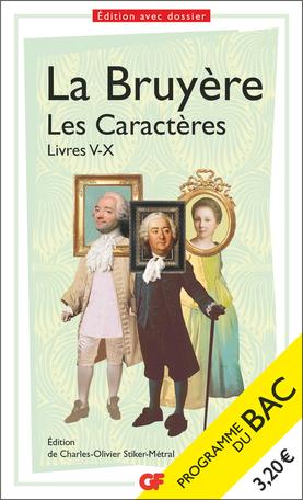 Les Caractères, Livres V-X - Bac 2022 - Parcours «La comédie sociale»
