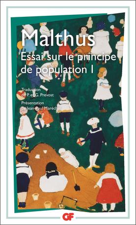 Essai sur le principe de population 1 1
