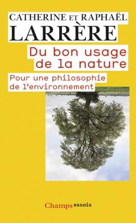 Du bon usage de la nature