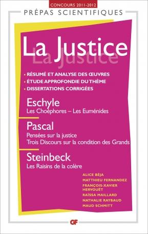 La Justice - Prépas 2011-2012