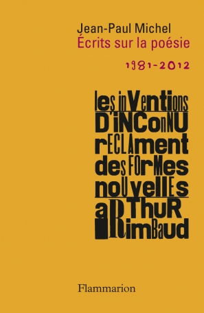 Écrits sur la poésie  (1981-2012)