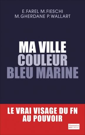 Ma ville couleur bleu marine