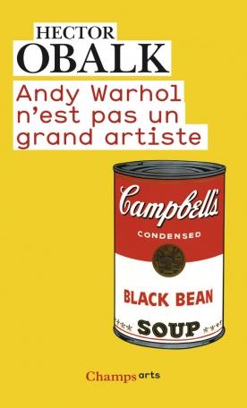 Andy Warhol n'est pas un grand artiste
