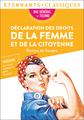 Déclaration des droits de la femme et de la citoyenne - Bac 2022 - Parcours «Écrire et combattre pour l'égalité»