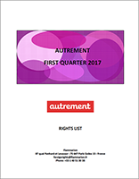 AUTREMENT-Foreign Rights-FIRST QUARTER 2017