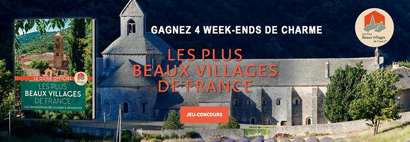 Concours Plus beaux villages de France