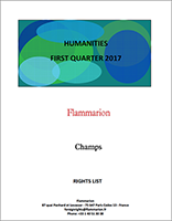 Flammarion-Foreign Rights-HUMANITIES-FIRST QUARTER 2017