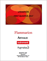 Flammarion-Foreign Rights-LITERATURE-FIRST QUARTER 2017