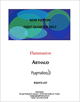 Flammarion-Foreign Rights-NON FICTION-FIRST QUARTER 2017